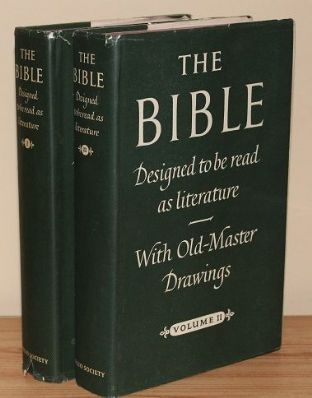 The Bible Designed to Be Read as Literature 2 volume set